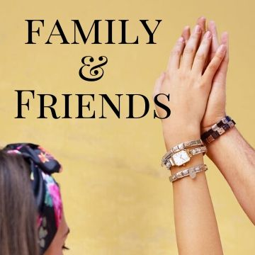 Friends and Family Charms