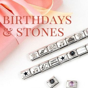 Birthdays and Stone Charms