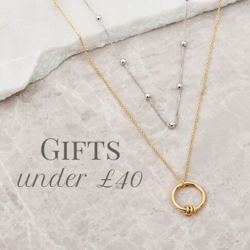 Affordable gifts under £40